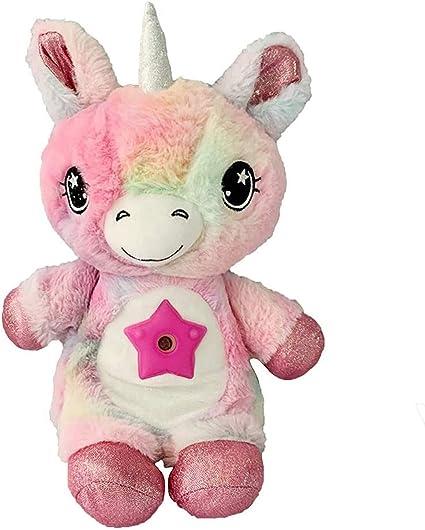 zdfbhkm Cuddly toy night light, starry sky stomach dream lite starprojector night light, children