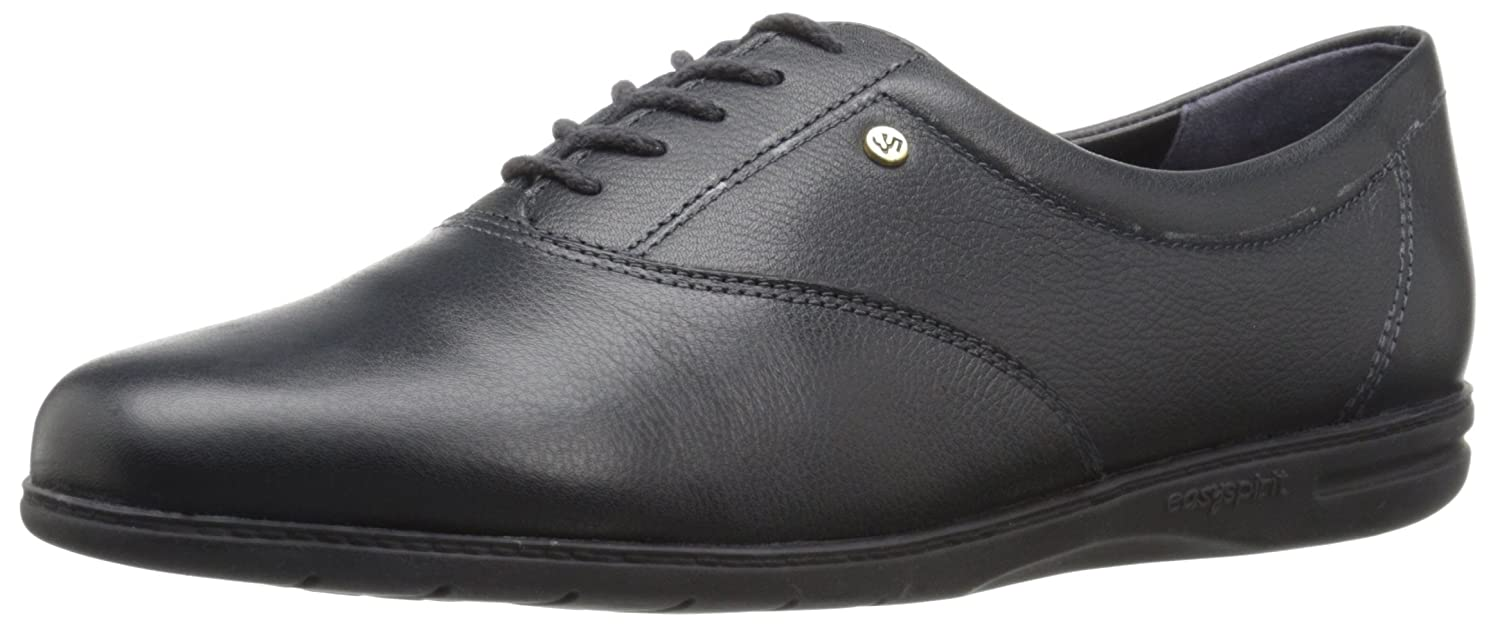 Navy Leather Easy Spirit Women's Motion Sport Lace-Up Sneaker