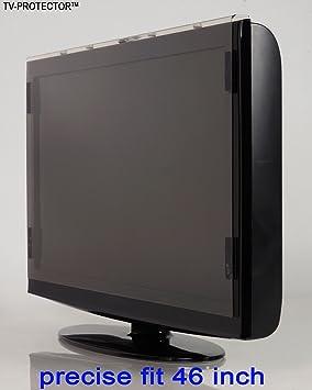 46 pulgadas TV-ProtectorTM sin brillo protector de pantalla de la televisor LCD LED Plasma HDTV. TV Screen Protector Cover Guard Shield: Amazon.es: Electrónica