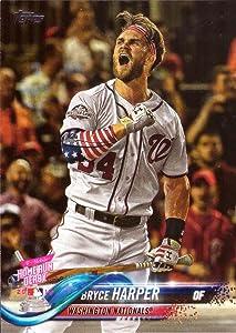 2018 Topps Update #US202 Bryce Harper Baseball Card - Wins 2018 Home Run Derby