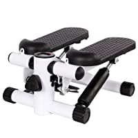 Ardisle Mini Stepper Stepping Legs Arm Thigh Exerciser Fitness Toner Resistance Up Down Rehabilitation Household Home Exercise Gym Aerobic Workout Machine Stepper Step Gym Stair Steps Stairs Workout Tone Toning Body Leg Compact Office Work Training