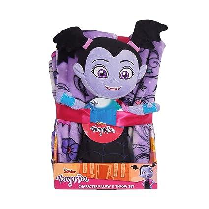 Amazon Com Disney Vampirina Character Plush Pillow Hugger And Throw