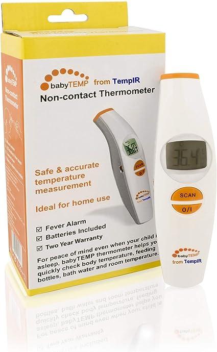lot de 2 Thermom/ètre scan /à infrarouge