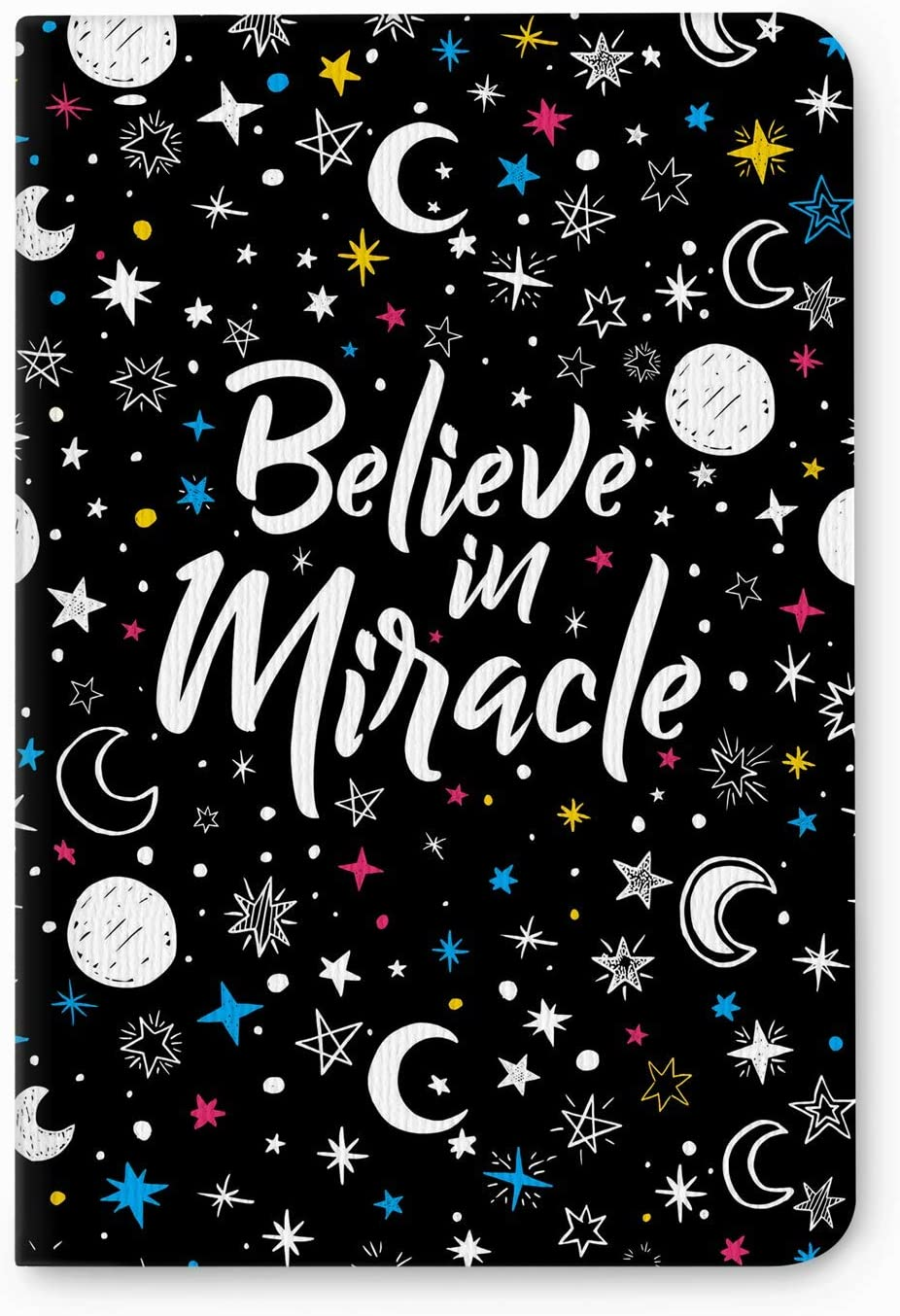 Factor Notes Notebook: 90 GSM Natural Shade Paper Journal Diary, B6, Plain, 112 Pages (Believe in Miracle)