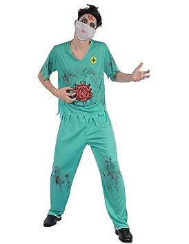 Generique - Disfraz de médico Sangriento Hombre XL: Amazon.es ...