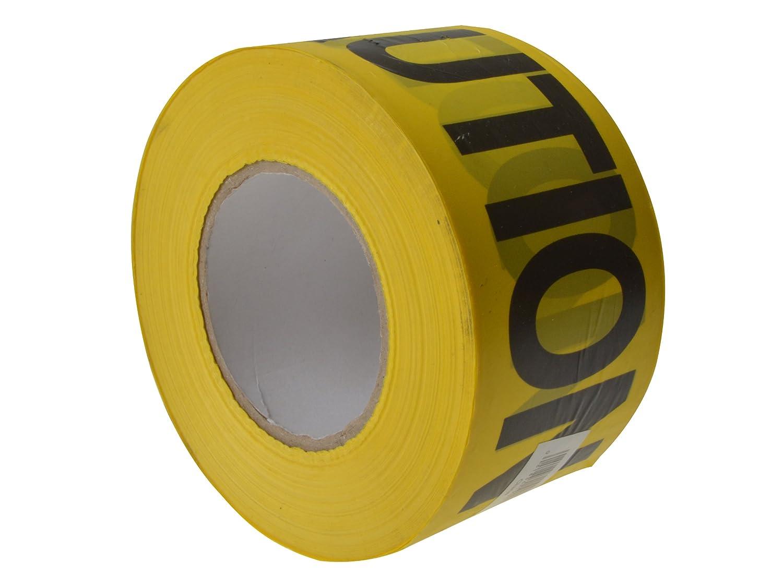 Yellow C H Hanson 19000 305m 1000ft Caution Economy Grade Tape