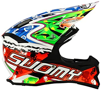 Suomy Casco Motocross Alpha Warrior, Warrior, S