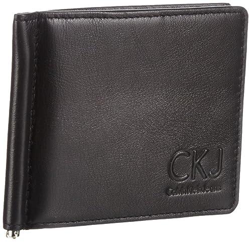 6aa6ef9389 Calvin Klein Jeans One Way, Portafoglio uomo, Nero (Schwarz (black ...