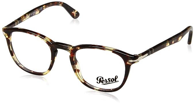 dbe7f86fcb Persol 0PO3143V, Monturas de Gafas para Hombre: Amazon.es: Ropa y accesorios