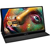 Portable Monitor - Lepow 15.6 Inch Full HD 1080P USB Type-C Computer Display IPS Eye Care Screen with HDMI Type C Speakers fo