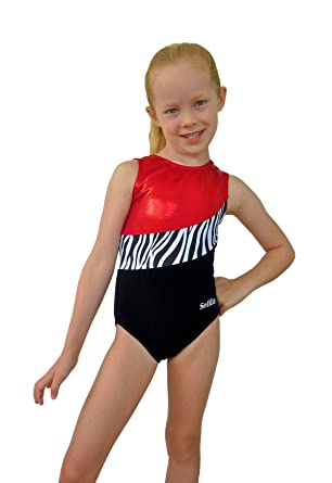 8567bb5d3 Amazon.com  Smart Stretch Velvet Girl Gymnastics Leotard - Dynamic ...