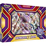 Pokemon TCG Card Game GENGAR EX BOX - 4 Booster Packs