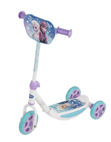 Disney Patinete de 3 Ruedas con Placa de Frozen: Amazon.es ...