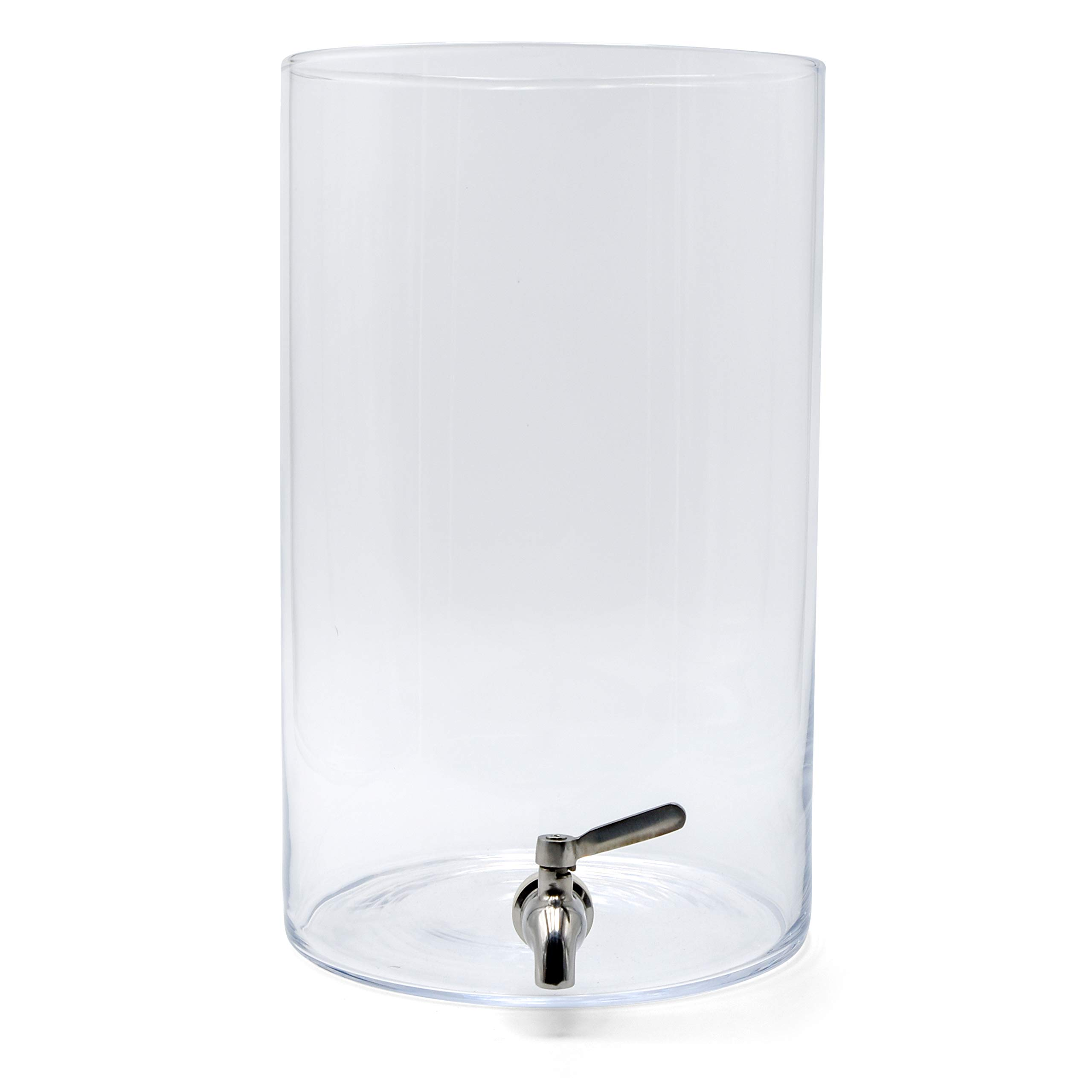 Northern Brewer Glass Continuous Kombucha Container with Stainless Steel Spigot (3 Gallon Glass w/Stainless Spigot)