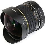 Opteka アプテカ 6.5mm f/3.5 高解像 非球面 魚眼レンズ for Canon EOS 一眼レフ 【国内正規品】