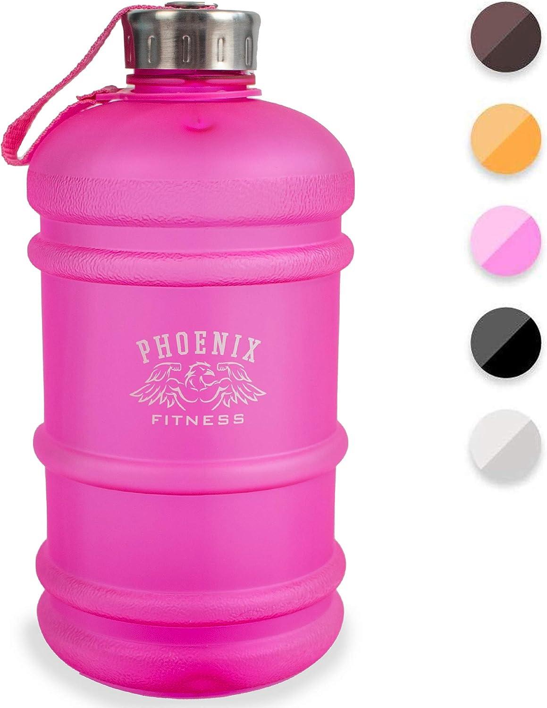 Phoenix Fitness - Tapón para botella de agua (2 L), color rosa