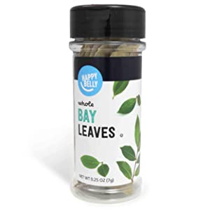 Amazon Brand - Happy Belly Bay Leaves, Whole, 0.25 Ounces