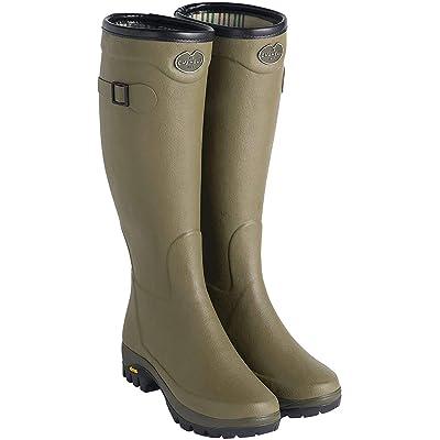 Le Chameau Men's Country Vibram Jersey Lined Boots | Rain