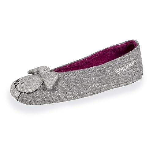 Isotoner - Zapatillas de Estar por Casa Niñas: Amazon.es: Zapatos y complementos