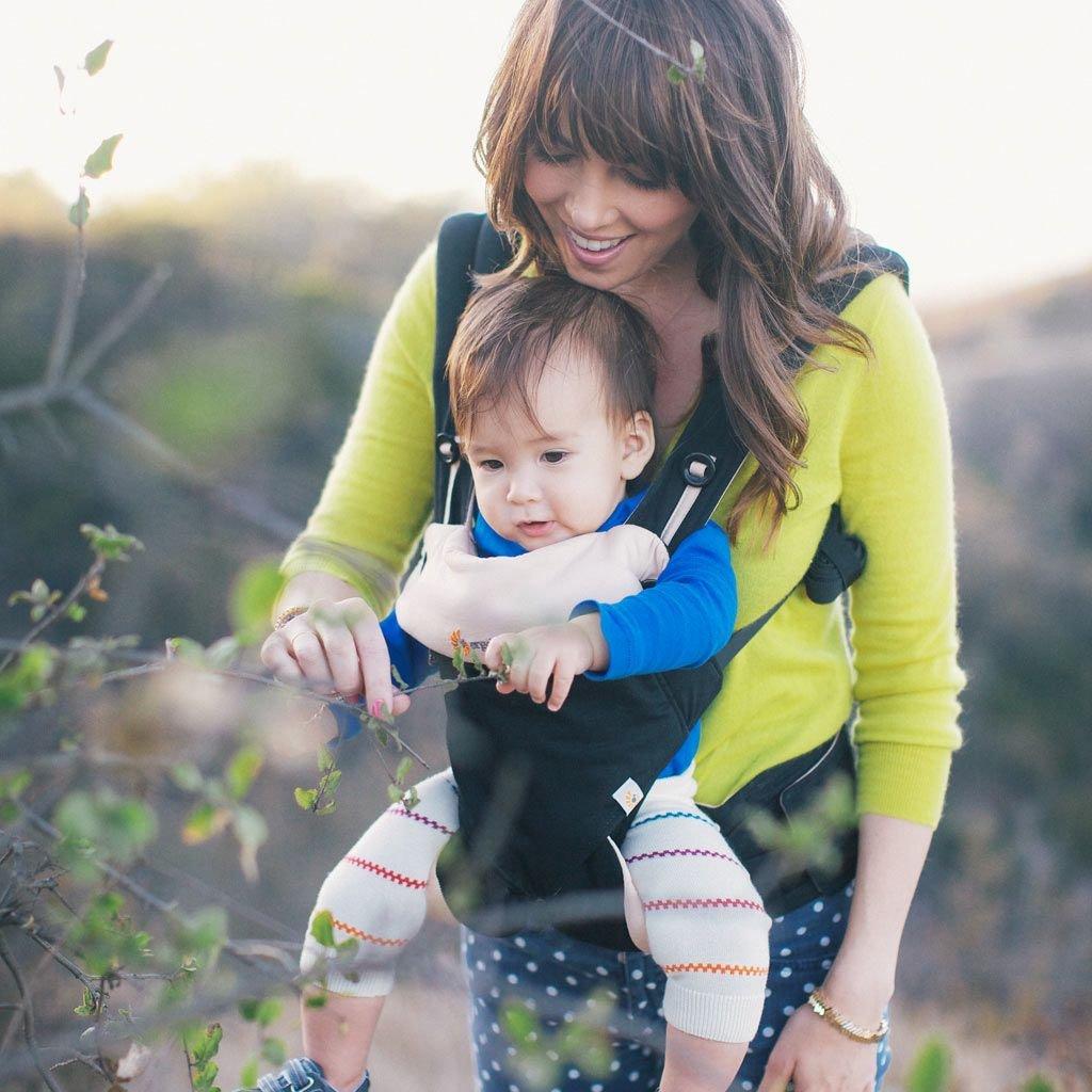 Ergobaby Adapt Cool Air Mesh - le porte-bébé est entièrement fabriqué en tissu mesh respirant