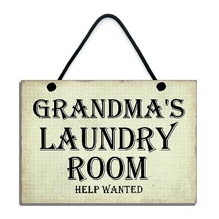 Sala de Lavandería Help Wanted, divertido de la abuela ...