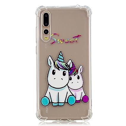 carcasa huawei p20 pro unicornio