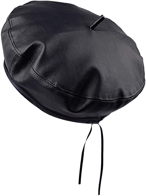 57 cm and 22.4 in sizes 22 in Leather Flat Cap 56 cm