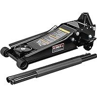 Torin ATZ830026XB Hydraulic Ultra Low Profile Heavy Duty Steel Service/Floor Jack with Dual Piston Quick Lift Pump, 3…