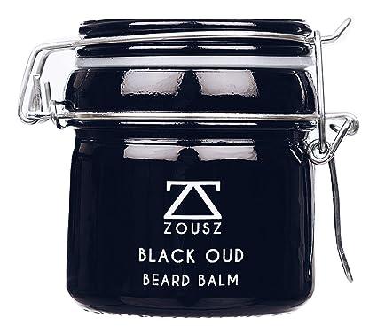 Bálsamo Barba ZOUSZ | Beard Balm | Bálsamo Para Barba Premium Perfumado Black Oud Para Hombre