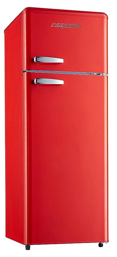 respekta Retro Frigorífico nevera y congelador frigorífico kg 146 ...