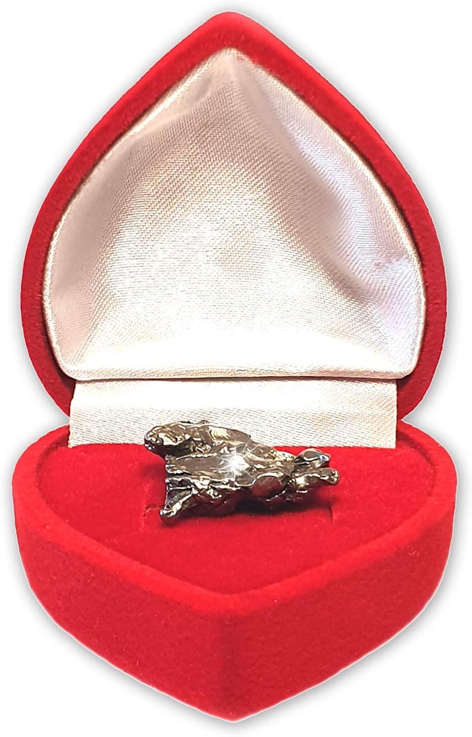 cadeau pour anniversaire comme cadeau de No/ël Authentique /étoile filante en rouge C/œur Bo/îte? Comprend un certificat d/étoile filante avec de lespace pour votre Signature anniversaire de mariage ou la Saint-Valentin