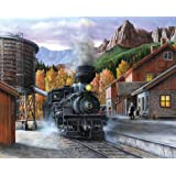Springbok Mountain Express Jigsaw Puzzle (1000 Piece)