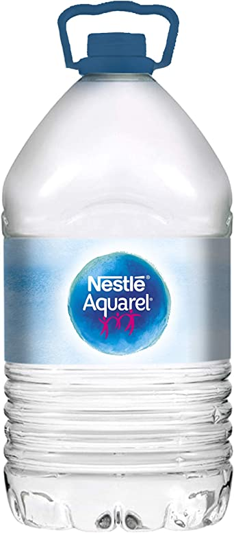 Nestlé Aquarel - Botella Agua Mineral Natural - 5 L: Amazon.es: Alimentación y bebidas