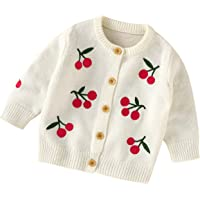 North edge Chaqueta para bebé con capucha para recién nacido, para niña, abrigo, abrigo de punto, ligero, para ropa…