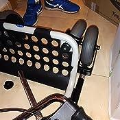 Invacare - Andador con ruedas y bandeja, color plateado: Amazon.es ...