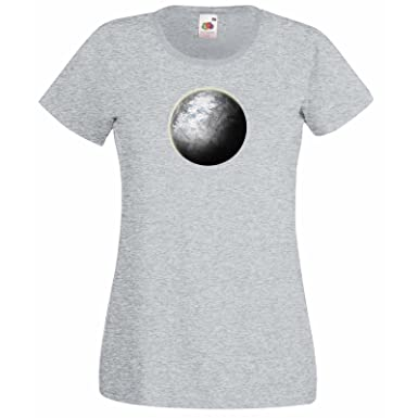 Custom Personalized Womens T-Shirt with Space Design   Fruit Of The Loom  Super Premium ed4e1dcd69