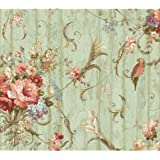 York Wallcoverings Floral Bouquet Removable Wallpaper