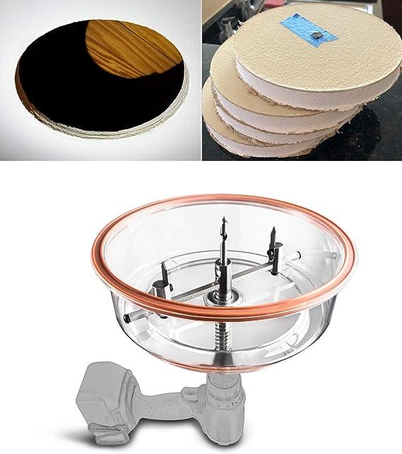 Black HoleCutter Circle Adjustable Wood Plasterboard Internal Wall Ceiling Black