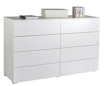 Composad Gran Privilego 8 Drawer Dresser Chest Wood High Gloss