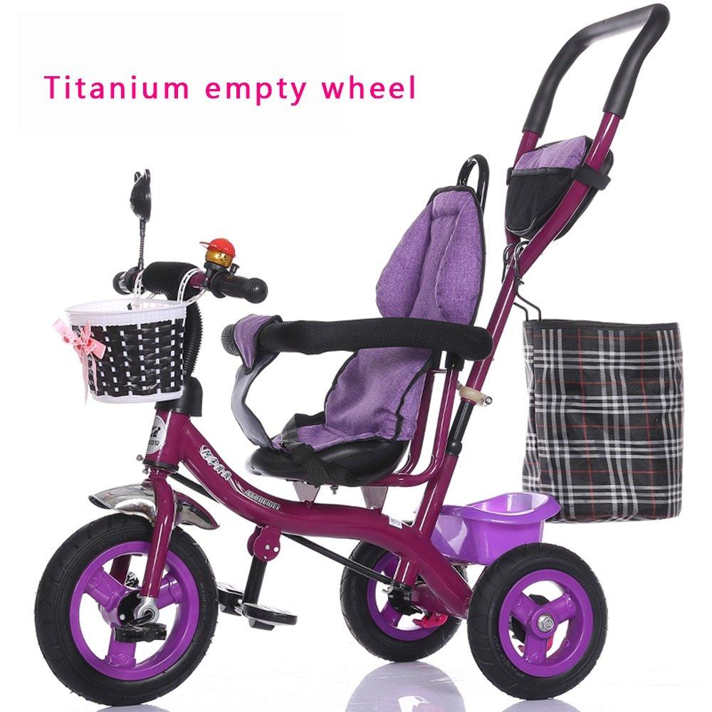 auténtico Cocheretilla de la luz de la rueda de burbuja, bicicleta bicicleta bicicleta de los niños, bicicleta, Cochero de bebé de la niña, triciclo de los niños ( Estilo   B )  mejor moda