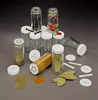product image for Spice Bottle Caps and Sifters (48-Piece)