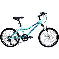 Spartan 20 inch Azure MTB Bicycle - Light Blue & Black