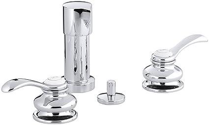 Kohler K 12286 4 Cp Fairfax Bidet Faucet Polished Chrome Amazon Com