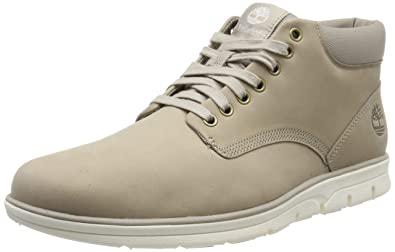 Timberland Herren Bradstreet Leather Sensorflex Chukka Boots, Beige (Light Taupe Nubuck), 46 EU
