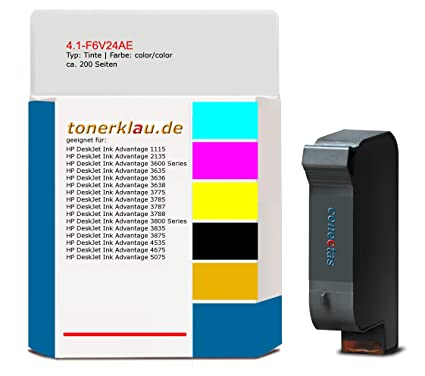 Tinta compatible con 4.1-F6V24AE para: HP DeskJet Ink Advantage ...