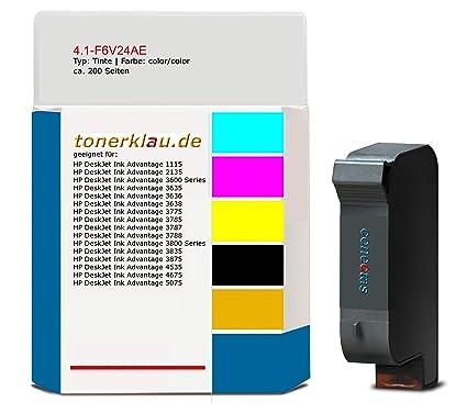 Tinta compatible 4.1-F6V24AE para: HP DeskJet Ink Advantage 3785 ...