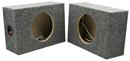 Prime Amazon Com Dnf 2 Pack 1 Pair Custom 6 1 2 Square Speaker Box Wiring 101 Cominwise Assnl