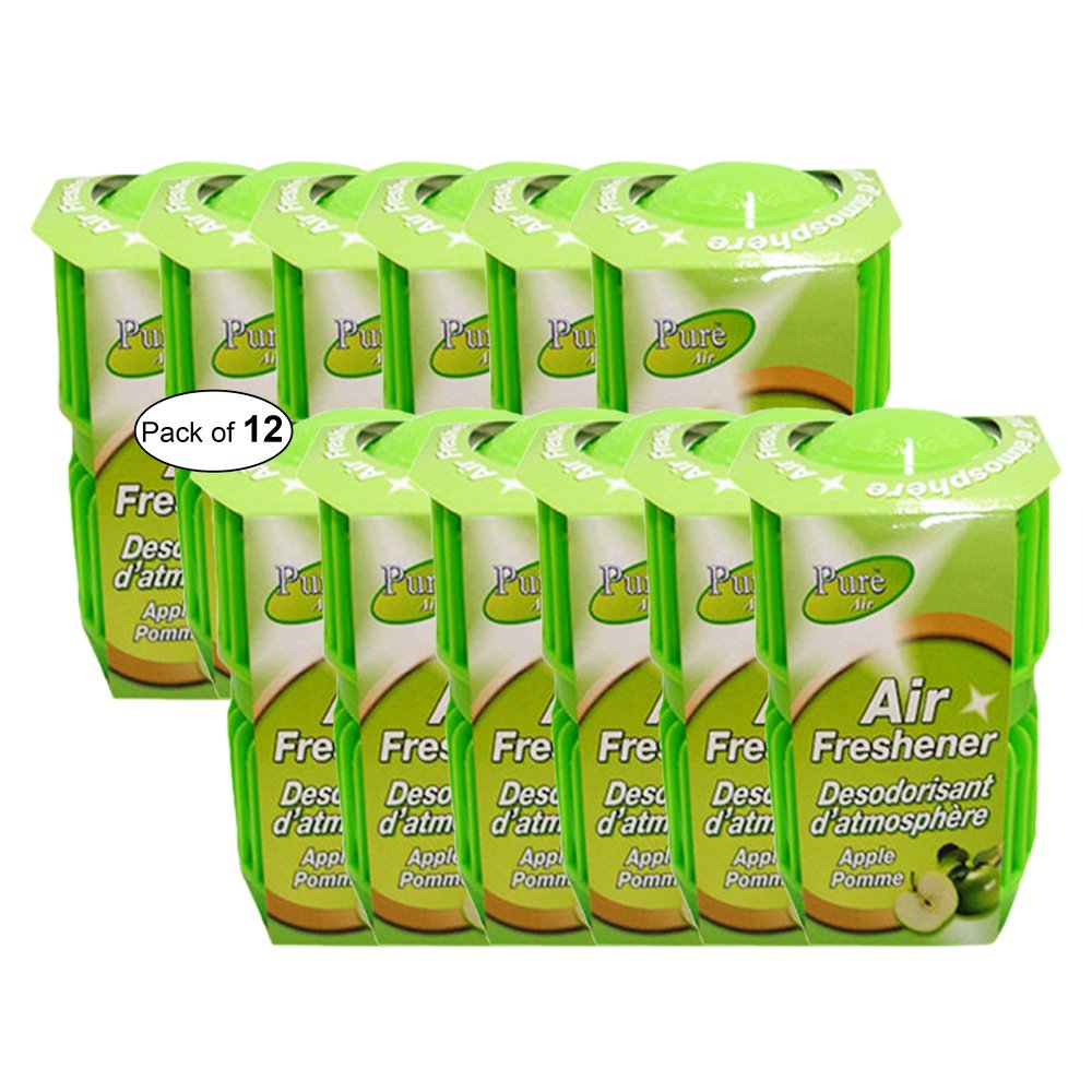Pure Air Twin Pack Air Freshener- Apple (286g) (Pack of 12)