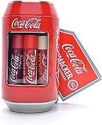 """Sei lucidalabbra """"Coca-Cola"""" al gusto delle bevande del noto brand. Sarebbe una idea regalo per ragazze, ma io che sono un maschio adulto le ho comprate per me!"""