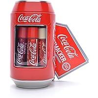 Lip Smacker Cofanetto Metallo Lattina con 6balsami per labbra Coca-Cola Profumi assortiti